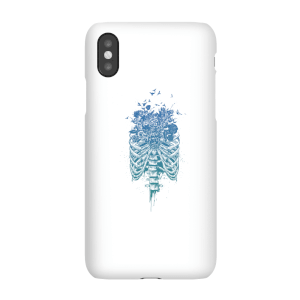Balazs Solti Ribcage And Flowers Phone Case for iPhone and Android