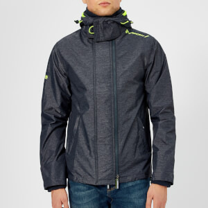 Superdry Men's Windcheater Jacket - Indigo Marl/Lemonade