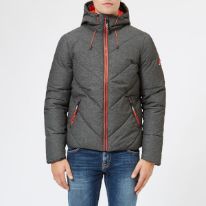 Superdry Men's Xenon Padded Jacket - Black Marl