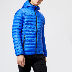 Superdry Men's Core Hooded Down Jacket - Cobalt