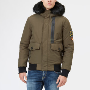 Superdry Men's Everest Bomber Jacket - Khaki