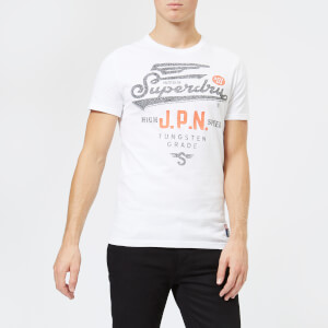 Superdry Men's High Speed Heritage Classic T-Shirt - Optic