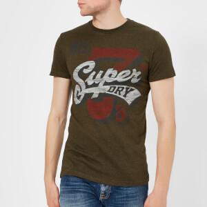 Superdry Men's Super 7's Tri T-Shirt - Black Olive Grit