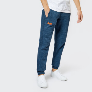 Superdry Men's Orange Label Cuffed Joggers - Washington State Blue