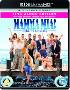 Mamma Mia! Here We Go Again - 4K Ultra HD (Includes Digital Download)