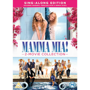 Mamma Mia! 2-Movie Collection – Sing-Along Edition (DVD + 2 Bonus Discs)