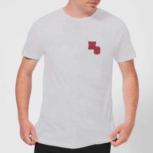 Camiseta Native Shore Logo NS Rojo - Hombre - Gris