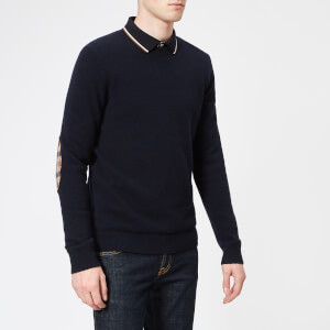 Aquascutum Men's Lance Lambswool Knitted Jumper - Navy