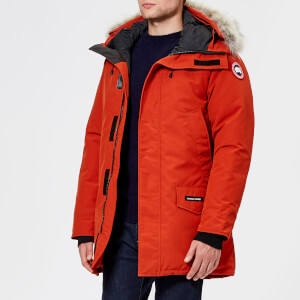 Canada Goose Men's Langford Parka Jacket - Red Jasper