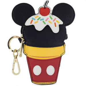 Loungefly Disney Monedero Cono Helado Mickey Mouse