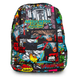 5446f3e58a7 Loungefly Star Wars Comic Book Panel Backpack