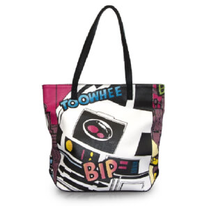 Loungefly Star Wars R2-D2 Comic Tote Bag
