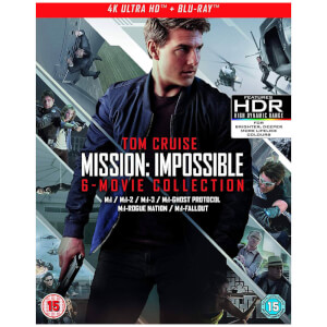 Mission: Impossible - The 6-Movie Collection - 4K Ultra HD (4KUHD + Blu-ray + Bonus Disc)