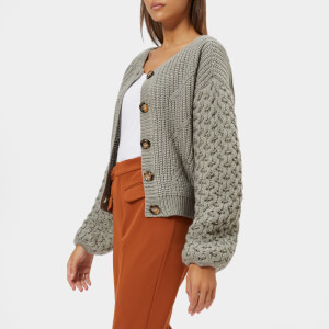 Gestuz Women's Juliette Cardigan - Grey