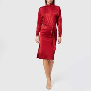 Gestuz Women's Philo Dress - Red Dahlia