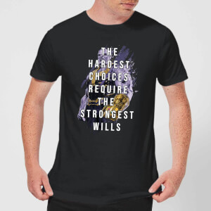 Avengers The Strongest Will T-shirt - Zwart