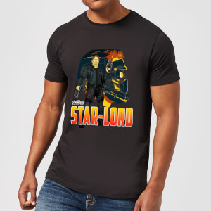 Avengers Star-Lord Men's T-Shirt - Black