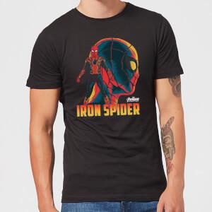 Avengers Iron Spider T-shirt - Zwart
