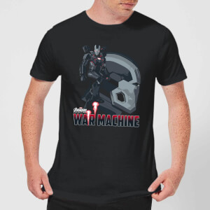 Avengers War Machine Men's T-Shirt - Black