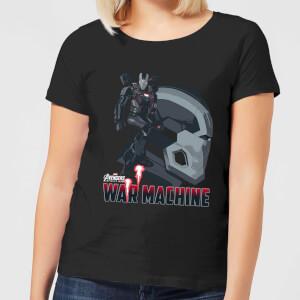 T-Shirt Femme War Machine Avengers - Noir