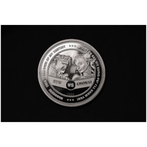 Street Fighter 30th Anniversary 'Versus' Collector's Limited Edition Coin: Silver Variant