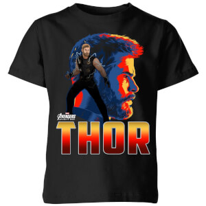 Avengers Thor Kids' T-Shirt - Black