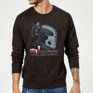 Avengers War Machine Sweatshirt - Black