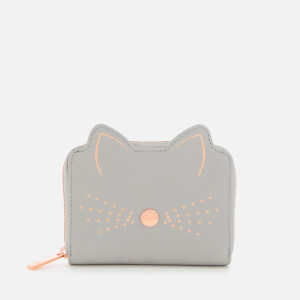 Ted Baker Women's Lohana Cats Whiskers Small Zip Purse - Grey