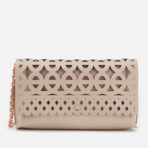 Ted Baker Women's Sallia Cut Out Detail Clutch Bag - Taupe