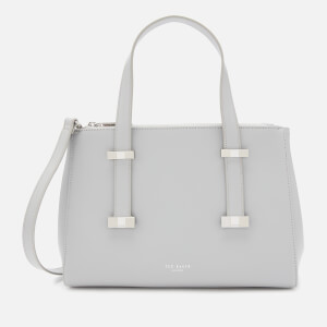 Ted Baker Women's Alyssaa Bow Adjustable Handle Small Tote Bag - Grey