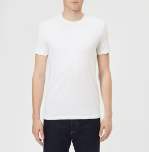 Dsquared2 Men's Twin Pack Crew Neck T-Shirt - White