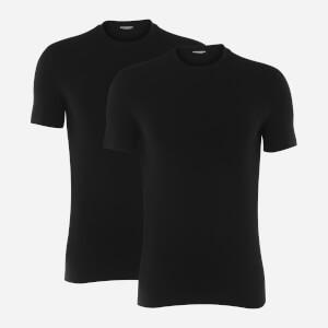 Dsquared2 Men's Twin Pack Back Logo T-Shirt - Black