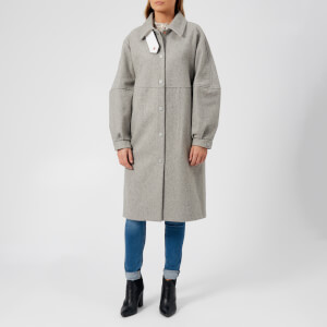 See By Chloé Women's City Wool Coat - Drizzle Grey