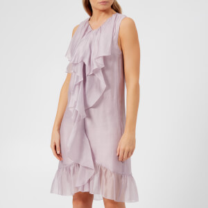 See By Chloé Women's Organza and Flounce Dress - Lavender Frost