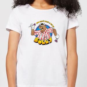 Camiseta Bullseye Can't Beat A Bit Of Bully- Mujer - Blanco