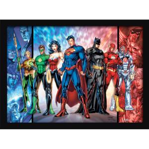 DC Comics (Justice League United) Framed 30 x 40cm Print