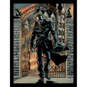 Batman (The Joker Released) Framed 30 x 40cm Print