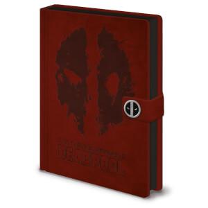 Deadpool (Splat) Premium A5 Notebook