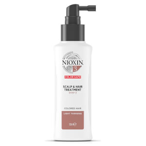 NIOXIN 3-part System 3 Scalp & Hair Treatment for Colored Hair with Light Thinning 100ml