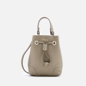 Furla Women's Stacy Mini Drawstring Bag - Taupe