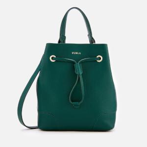 Furla Women's Stacy Small Drawstring Bag - Green