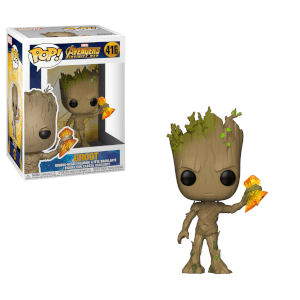 Marvel Infinity War Groot with Stormbreaker Pop! Vinyl Figure