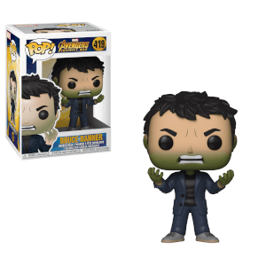 Marvel Infinity War Banner with Hulk Head Funko Pop! Figuur