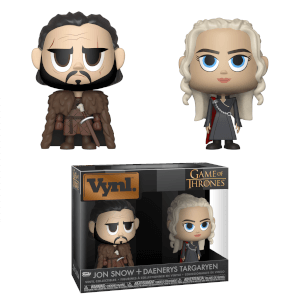 Game of Thrones - Jon & Daenerys Funko Vynl.