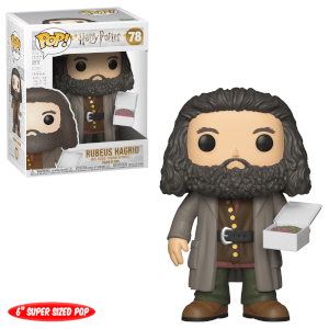 Figura Funko Pop! - Hagrid Con Pastel - Harry Potter