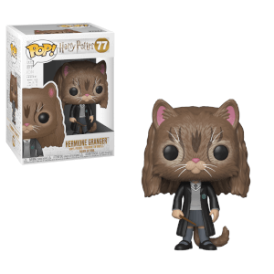 Harry Potter Hermione als Katze Pop! Vinyl Figur