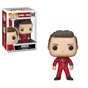La Casa de Papel (Money Heist) Berlin Pop! Vinyl Figure