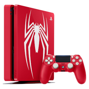Playstation 4 1TB Limited Edition Amazing Red from Marvel's Spider-Man