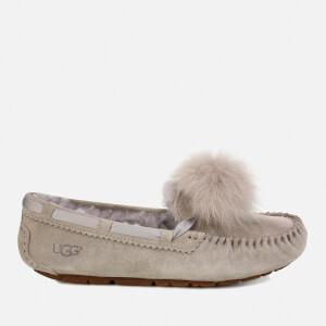 UGG Women's Dakota Moccasin Suede Slippers - Seal