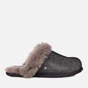 UGG Women's Scuffette II Sparkle Slippers - Black